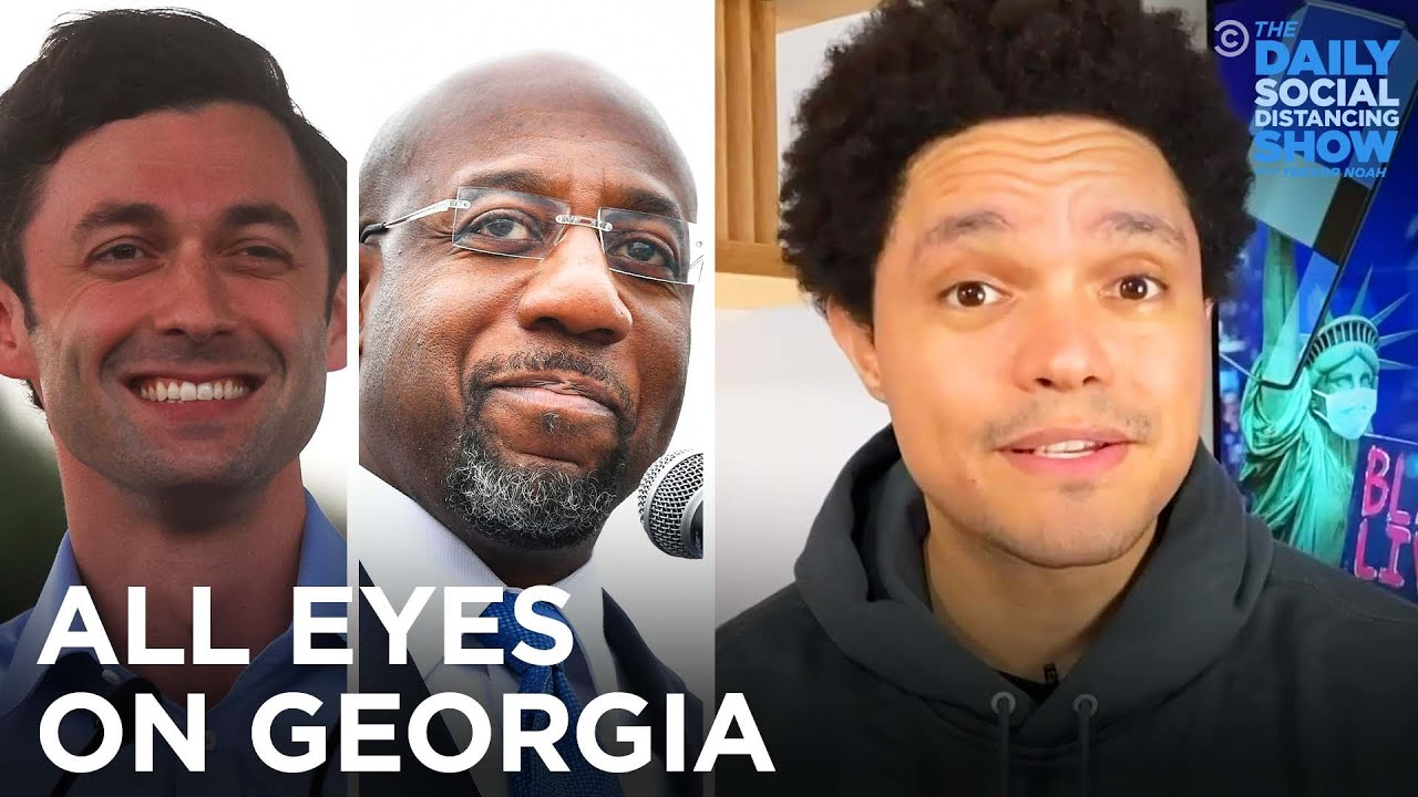 Everything You Need to Know About the Georgia Runoffs | The Daily Show