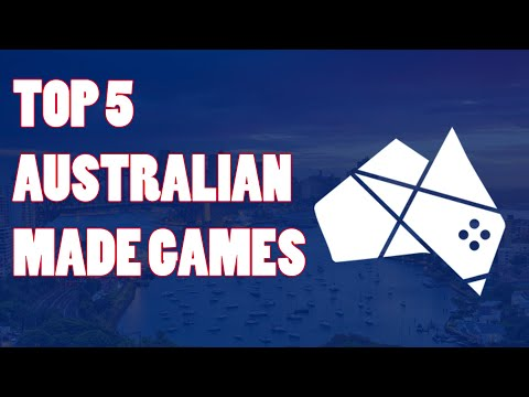 Top 5 - Games Made By Australian Developers