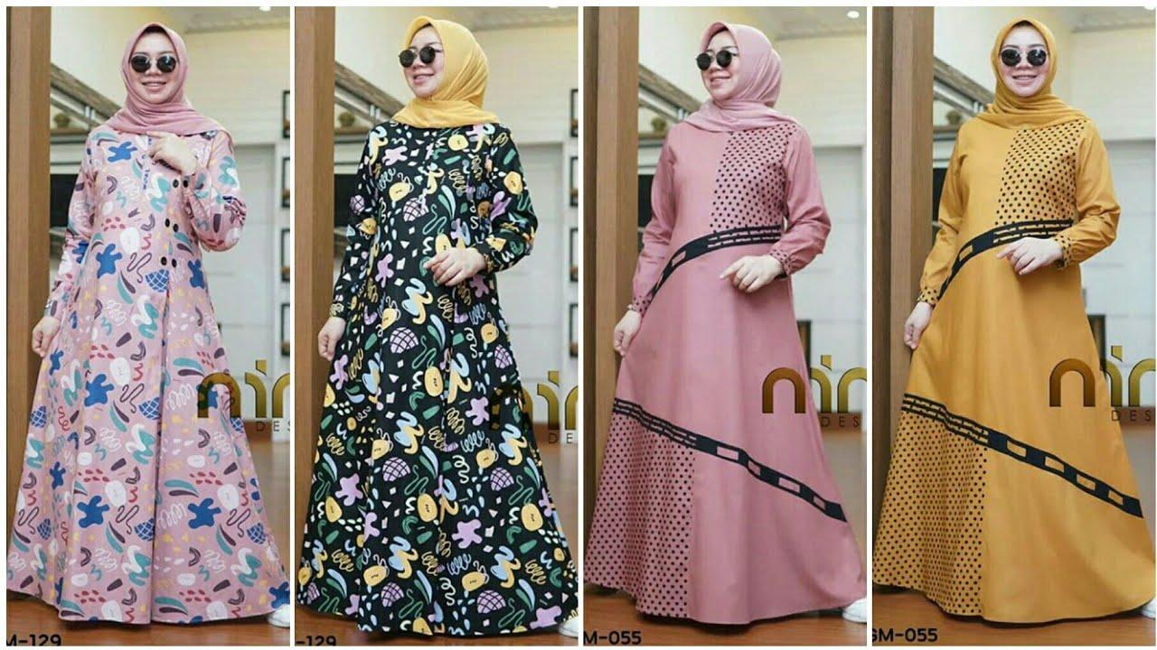 9 Model Gamis Terbaru 9 Original Branded Untuk Ramadhan dan Lebaran