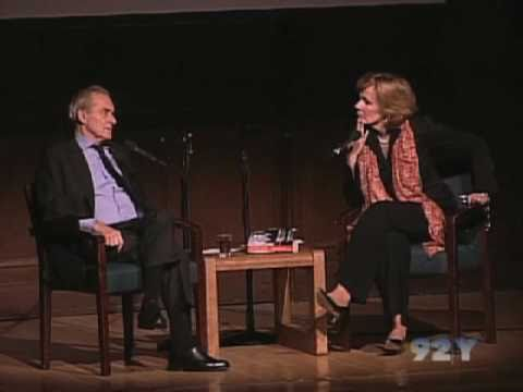 Sir Harold Evans with Peggy Noonan at the 92nd Street Y