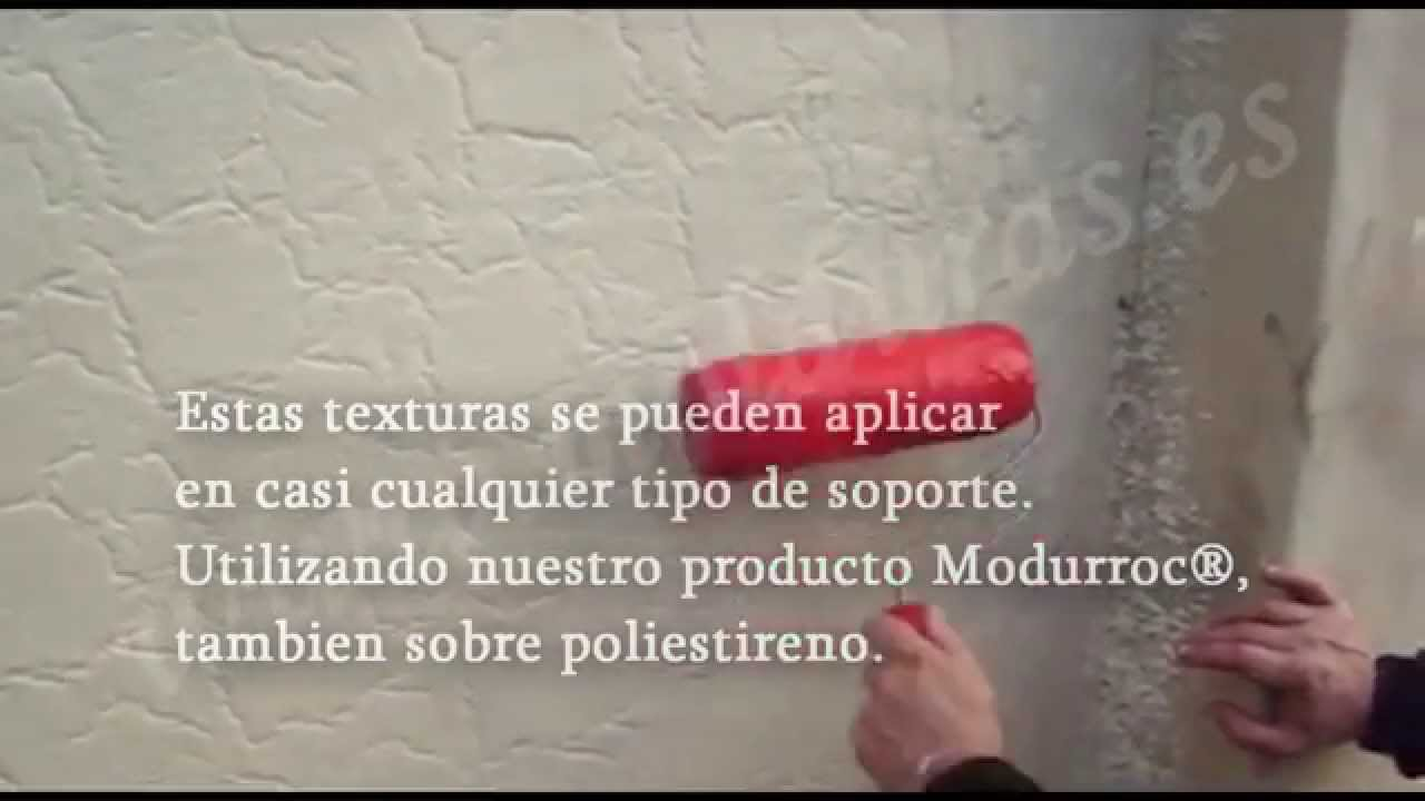 Rodillos para texturizar.wmv - YouTube