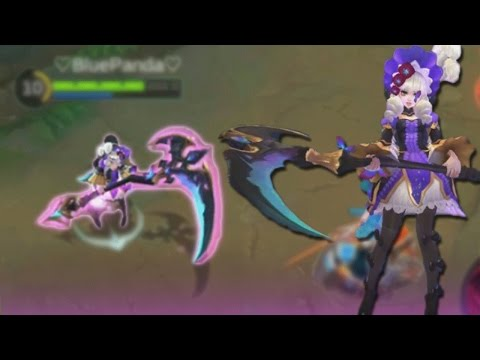 Mobile Legends New Ruby SKIN Gameplay! (Hidden Orchid Butterfly)