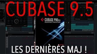 Tuto gratuit Cubase 9.5 PART I - 64bits, lecteur vidéo, zone améliorée,  grille et zoom