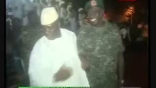 THE GAMBIAN DICTATOR AND HIS MERCENARY ARMY