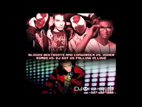 Bloody Beetroots and Congorock vs. Usher - Rombo vs. DJ Got Us Falling in Love (DJ MegaMix Mashup) mp3
