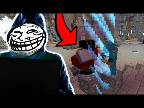 trolling in minecraft server