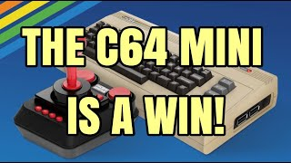 4K THE C64 MINI FOR THE WIN THIS HOLIDAY SEASON