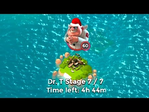 Boom Beach the BEST CHRISTMAS PRESENT! Dr T Speed Run World Record!