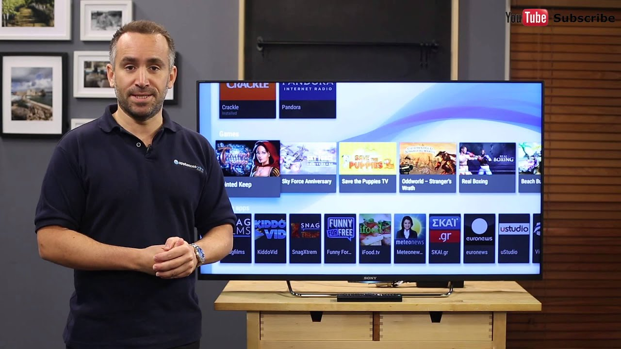 Sony KDL50W800C 50inch Full HD Smart 3D LED LCD TV overview by product  expert - Appliances Online