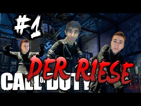 CoD WaW ZOMBIES - Der Riese #1 With Vikkstar