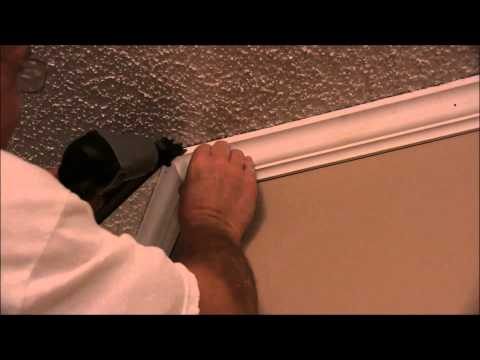 How To Use Angle Gauge To Cut Crown Baseboard And Shoe Molding