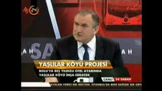 Bolu Belediye Başkanı Alaaddin Yılmaz Kanal 24'te 24 Sabah Programı'nın canlı yayın konuğu.