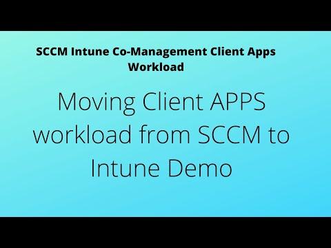 SCCM Intune Co-Management