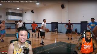 CASH FINALLY CALLED TJASS A HOOPIEST!!! 5V5 BASKETBALL WITH COLLEGE & PRO HOOPER HOOPERS!