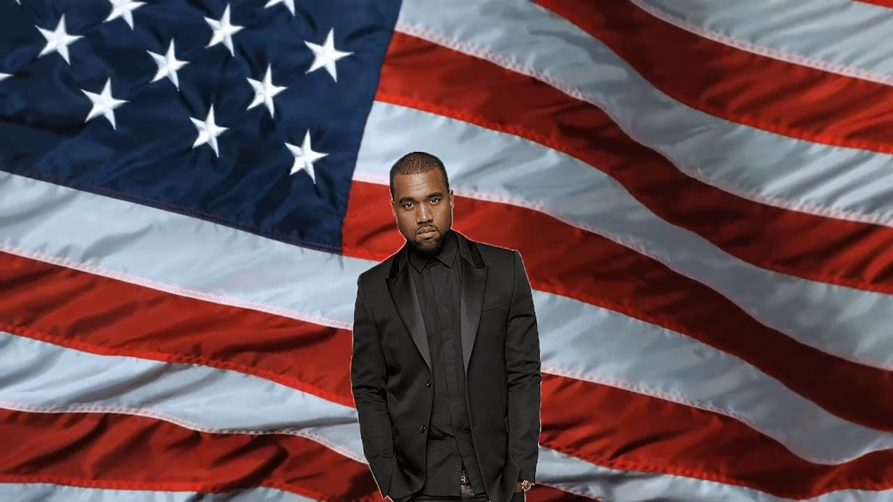 Kanye West - Black Skinhead But It's the Star-Spangled Banner