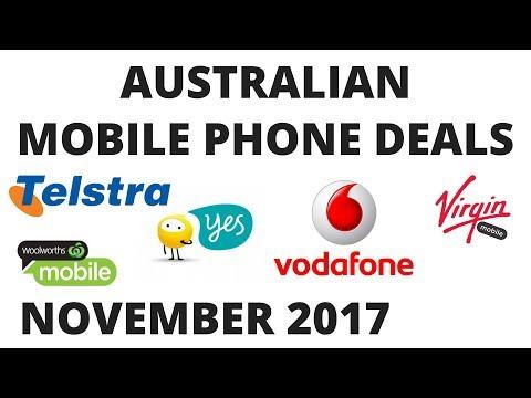 Mobile Plans Australia November 2017