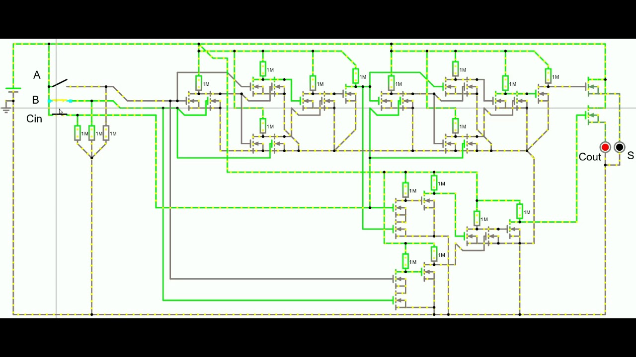Falstad Circuits Youtube Not Lossing Wiring Diagram Circuit Simulator Applet Paul Full Adder Rh Com Java