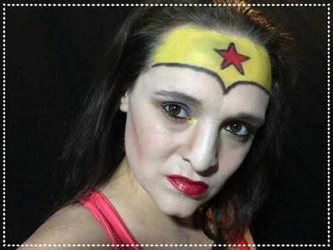Wonder Woman Cosplay Makeup Tutorial