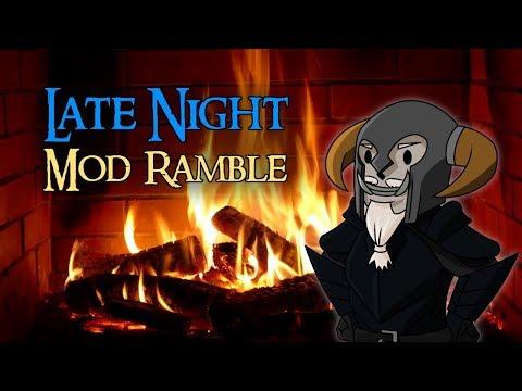 Late Night Mod Ramble | Tweaking Perks