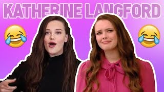 Katherine Langford FUNNY MOMENTS