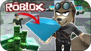 ROBLOX - ¡He perdido mi diamante! - ROB THE BANK