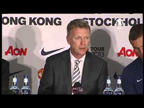 David Moyes's first press conference as Manchester United coach: Full video