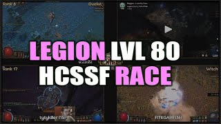 Path of Exile: Legion HCSSF Lvl 80 RACE Cast! The Top Racers Compete for an Exilecon Golden Ticket!