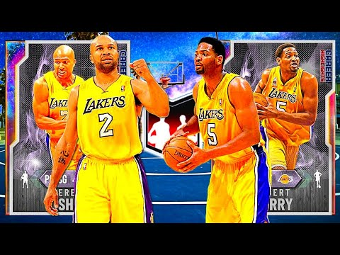 How Good Is The OPAL Derek Fisher And OPAL Robert Horry DYNAMIC DUO? NBA 2k20 MyTeam