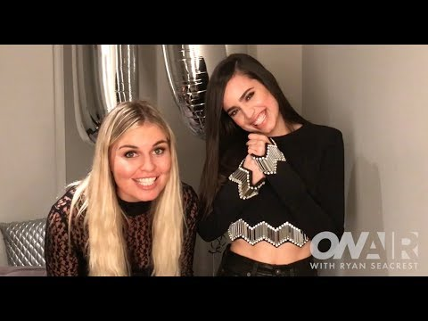Sofia Carson Plays 'Ins and Outs' Lyric Game | On Air with Ryan Seacrest