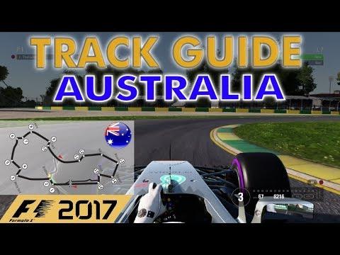 F1 2017 - Australia/Melbourne TRACK GUIDE + SETUP (1:20.781)