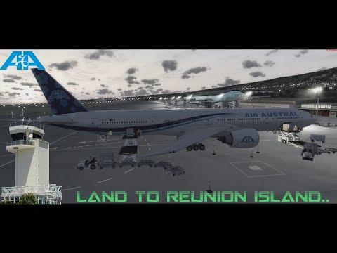 [PREPAR3D V4] 777-300ER REU974 LAND TO REUNION ISLAND (FMEE)