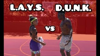 CAN I BEAT A DUNK PRO? | Bionic Brook vs. Bree Green