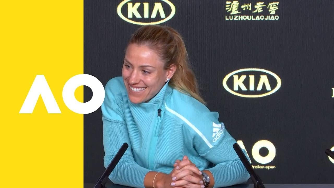 Angelique Kerber pre-tournament press conference