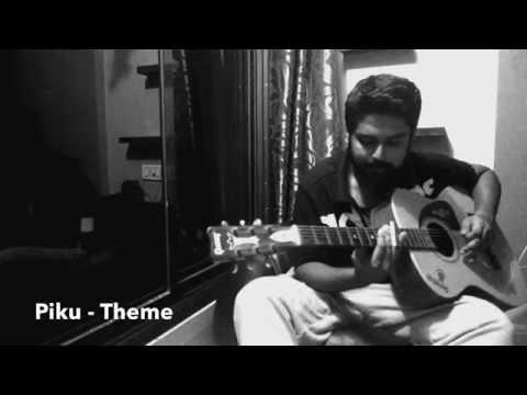 Piku - Sarod Theme (Guitar Instrumental Cover)