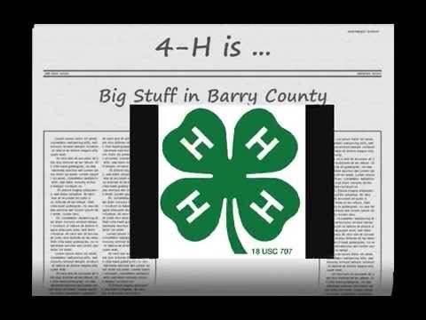 4-H in Barry County, Missouri, 2009
