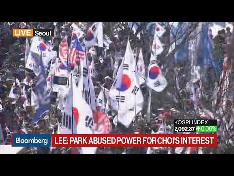 South Korea's Park Ousted From Presidency