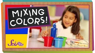 SciShow Kids: Mixing Colors! thumbnail