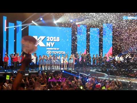 180624 Ending stage Day 2 KCON NY...