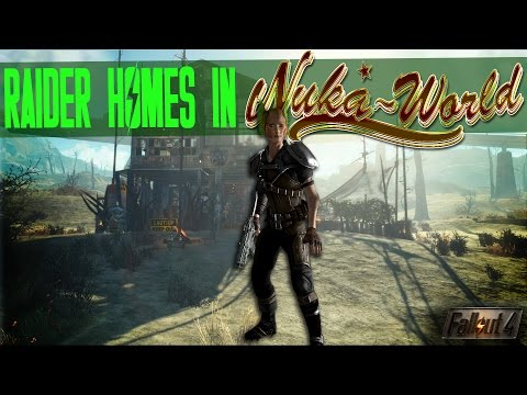 Raider Homes in Nuka World Red Rocket Settlement