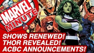 Shows Renewed! Thor Revealed! ACBC Announcements! - Marvel Minute 2015