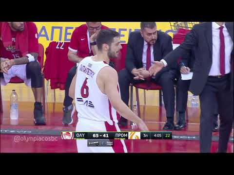 Highlights Olympiacos BC - Promitheas Patras BC 24-5-2018