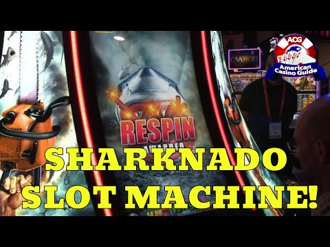 Sharknado Slot Machine from Aristocrat Technologies - Slot Machine Sneak Peek Ep. 30