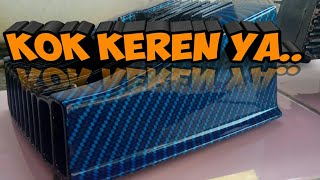 Tutorial water transfer printing - carbon celup