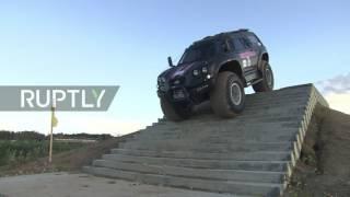 نموذج سيارة برمائية روسية جديدة معروض في منتدى