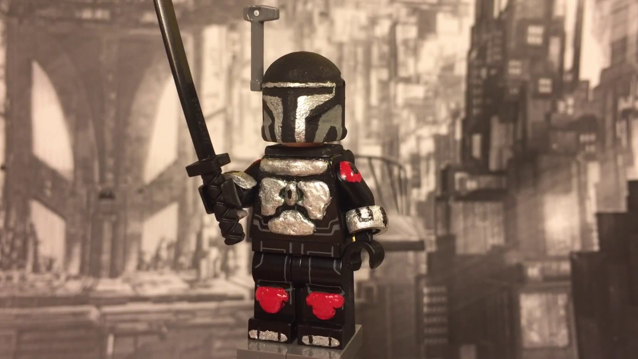 Custom Lego Tarre Vizsla Youtube He was the one who created the darksaber, according to the legend about the darksaber. custom lego tarre vizsla