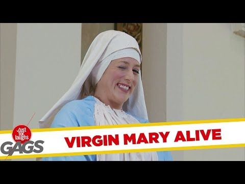 Virgin Mary Comes Alive Prank