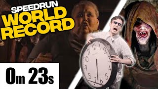 RESIDENT EVIL VILLAGE DEMO SPEEDRUN WORLD RECORD!