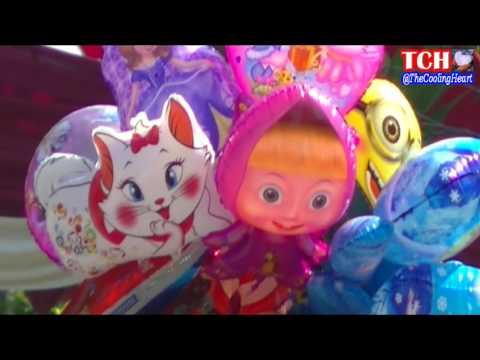 Ballons Kids - Balon Karakter Masha, Boboiboy, Doraemon, Ipin Upin, Shark, Hello Kitty