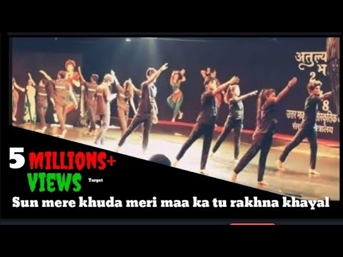 Sun Mere Khuda meri maa ka tu rakhna khayal song  Dance in Delhi Central Park | D videos