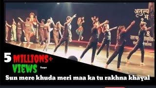 Sun Mere Khuda meri maa ka tu rakhna khayal song  Dance in Delhi Central Park | D videos
